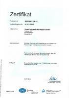 DIN EN ISO 9001 2015 2019 HIM